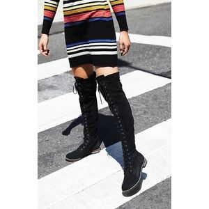 Free People Tennessee Lace-Up Boots